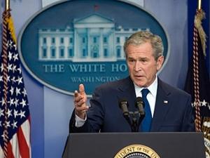 На прощальной пресс-конференции Буш пожелал удачи Обаме