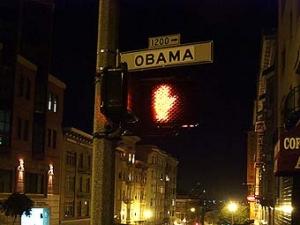 """В Сан-Франциско улицу """"Буш-стрит"""" переименовали в """"Обама-стрит"""""""