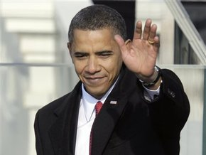 Главы ведущих мировых держав поздравляют 44-го президента США