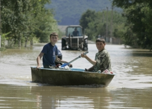 Синоптики обещают, что в выходные Закарпатье затопит