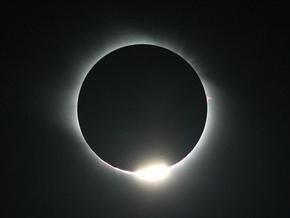 На Земле наблюдается первое в 2009 году солнечное затмение