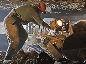 Луганские шахтеры совершили подкоп под Россию