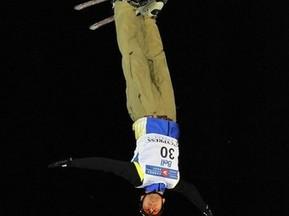Украинец берет бронзу на этапе Кубка мира по фристайлу