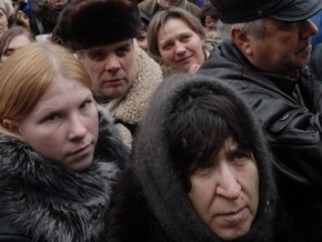 Киевляне Шевченского и Дарницкого районов пикетируют райгосадминистрации