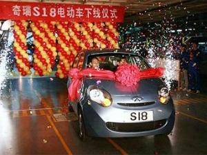 В Китае разработали электромобиль за 14 тысяч долларов