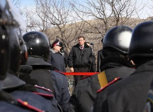Луценко обещает не бить людей на мирных митингах (видео)