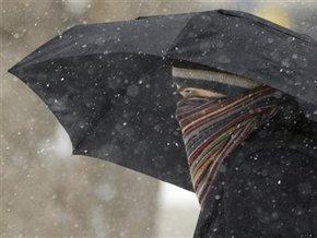 Завтра в Украине – дождь и мокрый снег