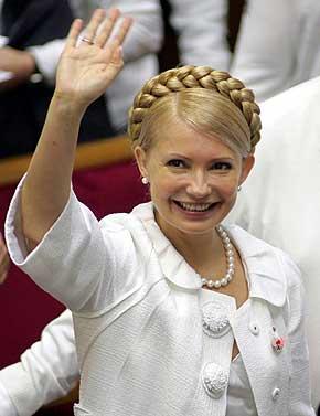 Тимошенко поехала в Брюссель решать вопросы ГТС