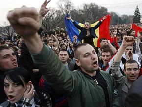 В беспорядках в Кишиневе пострадали более 20 человек