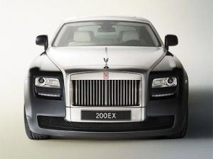 """Компания Rolls-Royce назвала свой самый маленький седан """"призраком"""""""
