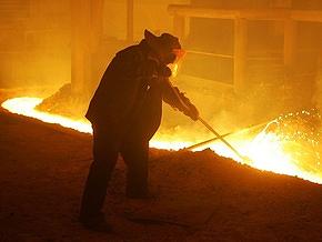 В апреле производство стали в Украине упало на 10%