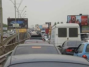 В Киеве ограничили движение по 4 улицам, Южному мосту и мосту через Русановский пролив 21- 24 мая