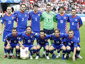 ЧМ-2010: Билич назвал состав хорватской сборной на матч с Украиной