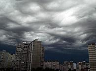 На завтра объявлено штормовое предупреждение на западе и севере Украины