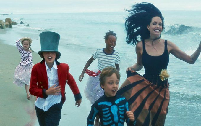 Джолі з дітьми переїхала до відомої актриси: з'явилися фото