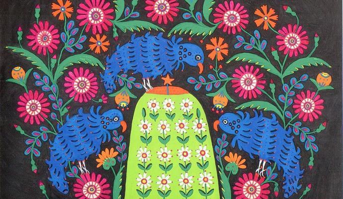 9 февраля в Мыстецьком арсенале откроется выставка живописи Марии Примаченко