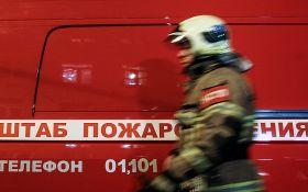 У Росії на складі боєприпасів виникла велика пожежа