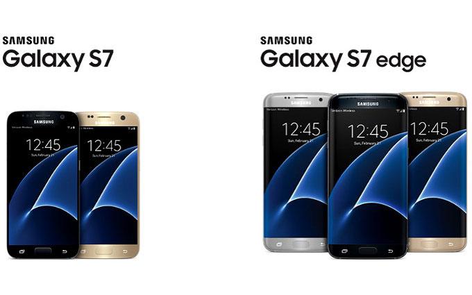 Названа дата, когда стартуют продажи Samsung Galaxy S7 и Galaxy S7 edge