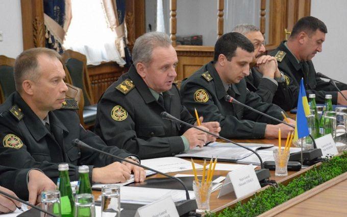 Розведення сил на Донбасі: глава Генштабу зробив гучну заяву