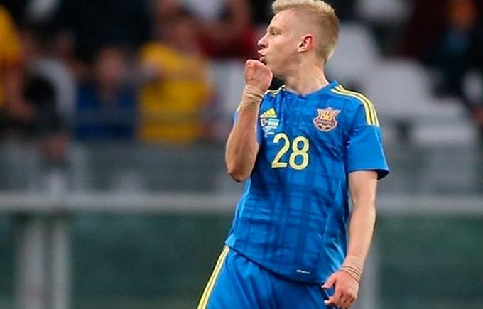 Український футболіст увійшов до десятка талантів Євро-2016