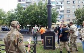 """На звільненому Донбасі стався інцидент через """"український"""" танк: з'явилося відео"""