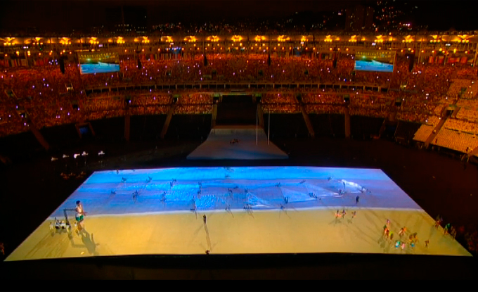 Церемония открытия Паралимпиады-2016: фото и видео из Рио (69)