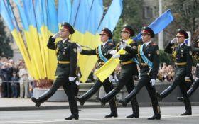 Для репетиции военного парада вечером перекроют Крещатик