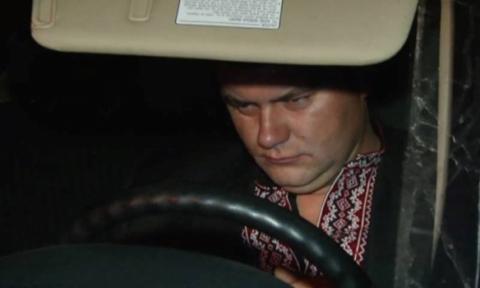 П'яний начальник митного поста намагався прорвати блокаду Криму на позашляховику (фото) (1)