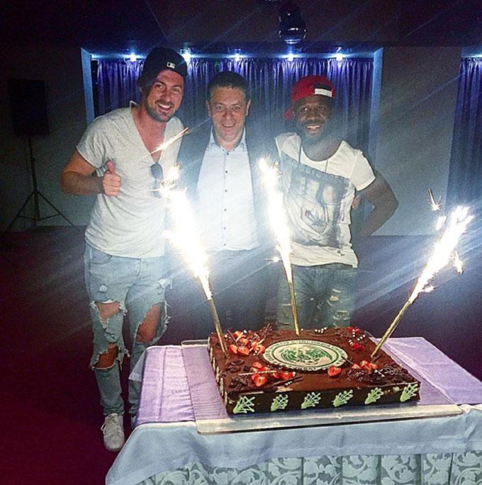 Мілевський попрощався з румунським клубом: опубліковані фото і відео (1)