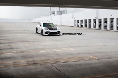 Porsche Panamera від Mansory на дисках ADV.1 Wheels (12 фото) (5)