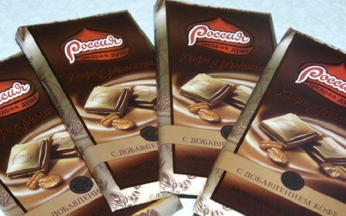 Україна введе антидемпінгові мита на шоколад з Росії - ЗМІ
