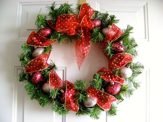 Как украсить дом на Новый год 2018: рождественский и новогодний декор своими руками (2)