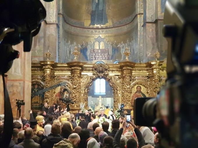 Митрополит Епіфаній офіційно став предстоятелем ПЦУ: яскраві фото з інтронізації (1)