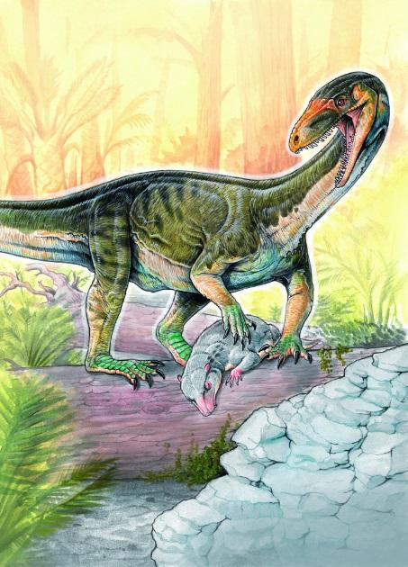 Вчені знайшли рештки одного з найстаріших родичів динозаврів (1)