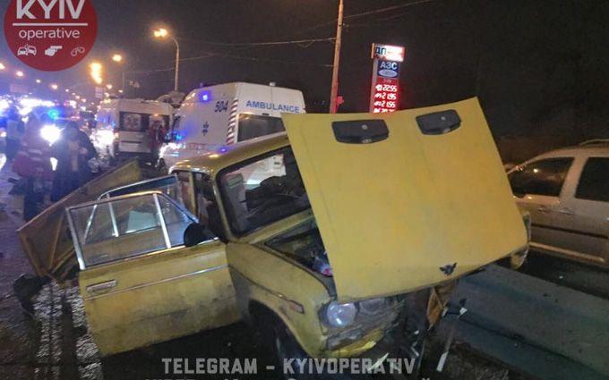 У Києві сталося страшна ДТП: з'явилися фото