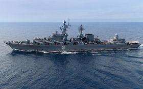 Корабель з Росії провів навчання із сінгапурським судном поблизу Корейського півострова