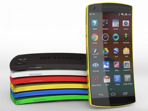 Nexus 6 с новейшей Android L и изогнутым экраном выйдет в конце осени