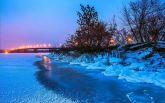 Дніпро засипало снігом: в мережі публікують фото справжньої зимової казки