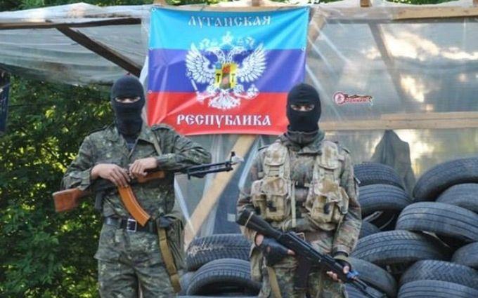 Бойовики ЛНР зігнали масовку на мітинг проти ОБСЄ: з'явилося фото