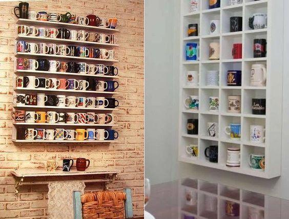 Как хранить чашки, чтобы на кухне было уютно: креативные идеи в фото (2)