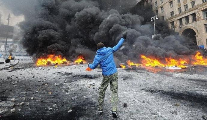 Во Франции показали антиукраинский фильм о Евромайдане