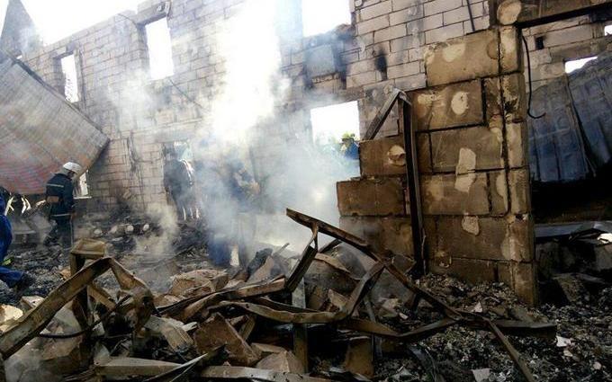 Пожежа в будинку для літніх людей під Києвом: з'явилися розповіді очевидців
