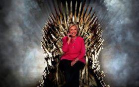 """Хілларі Клінтон в мемуарах порівняла себе з героїнею """"Гри престолів"""""""