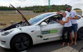 Електромобіль Tesla Model 3 встановив новий рекорд: опубліковано відео