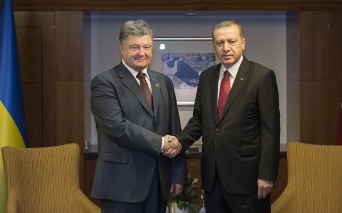 Новий друг Путіна Ердоган висловився щодо України і Криму