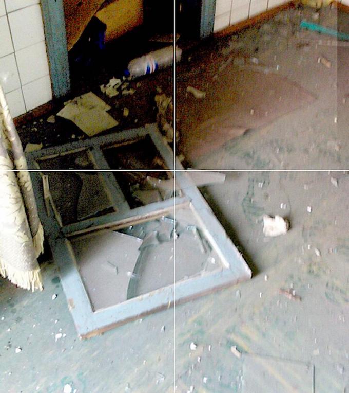 Бойовики на Донбасі стріляли з танків: з'явилися моторошні фото наслідків (1)