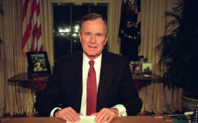 Стало известно, какими были последние слова Джорджа Буша-старшего