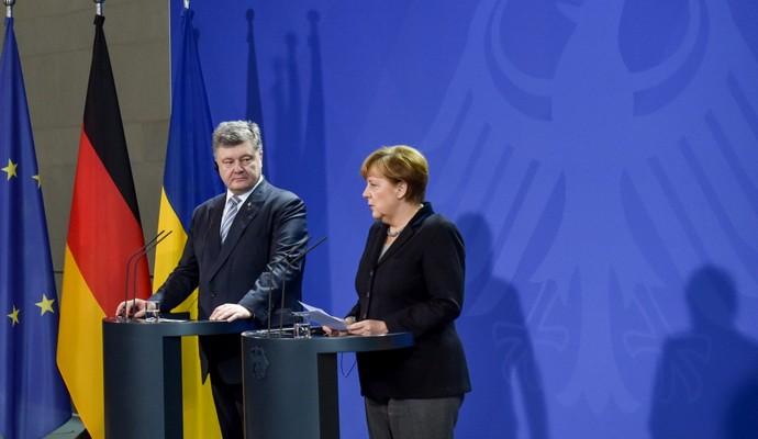 Результаты переговоров Порошенко и Меркель