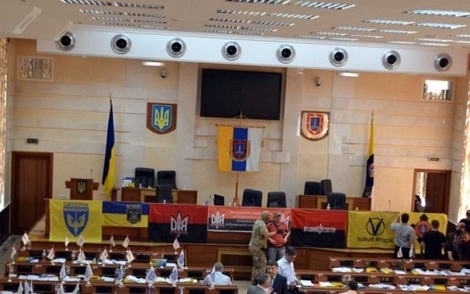 Скандал в облраді Одеси: Саакашвілі просить знайти хуліганів