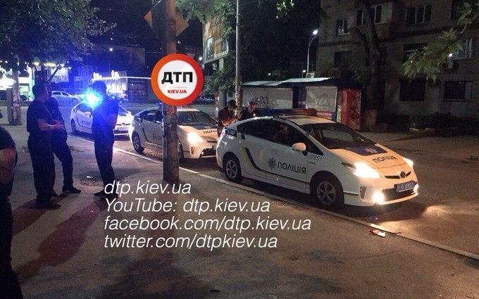 У Києві влаштували п'яні розбірки: з'явилися фото